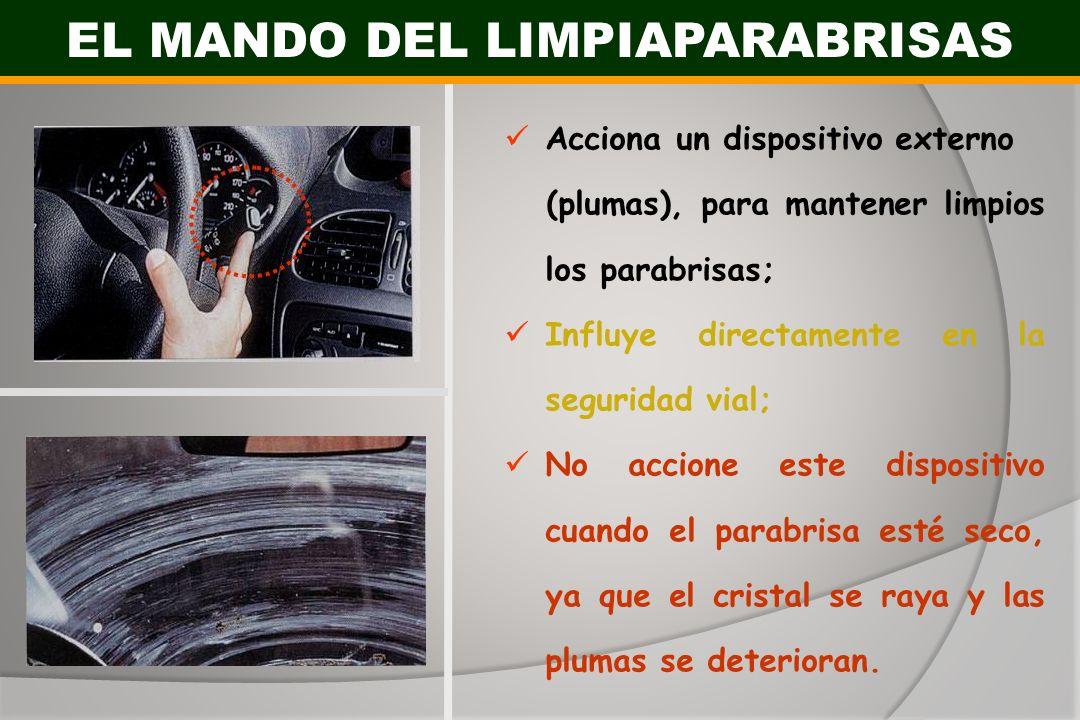 EL MANDO DEL LIMPIAPARABRISAS