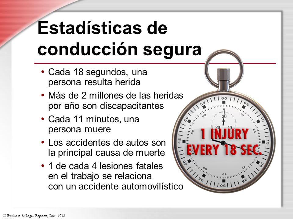 Estadísticas de conducción segura