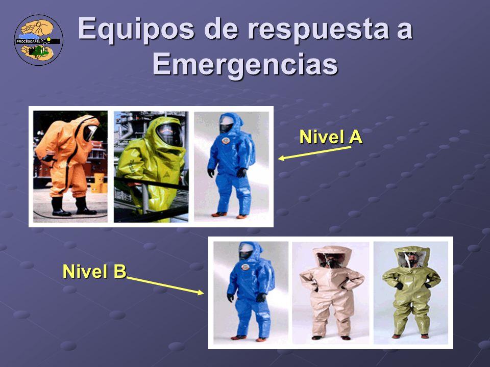 Equipos de respuesta a Emergencias