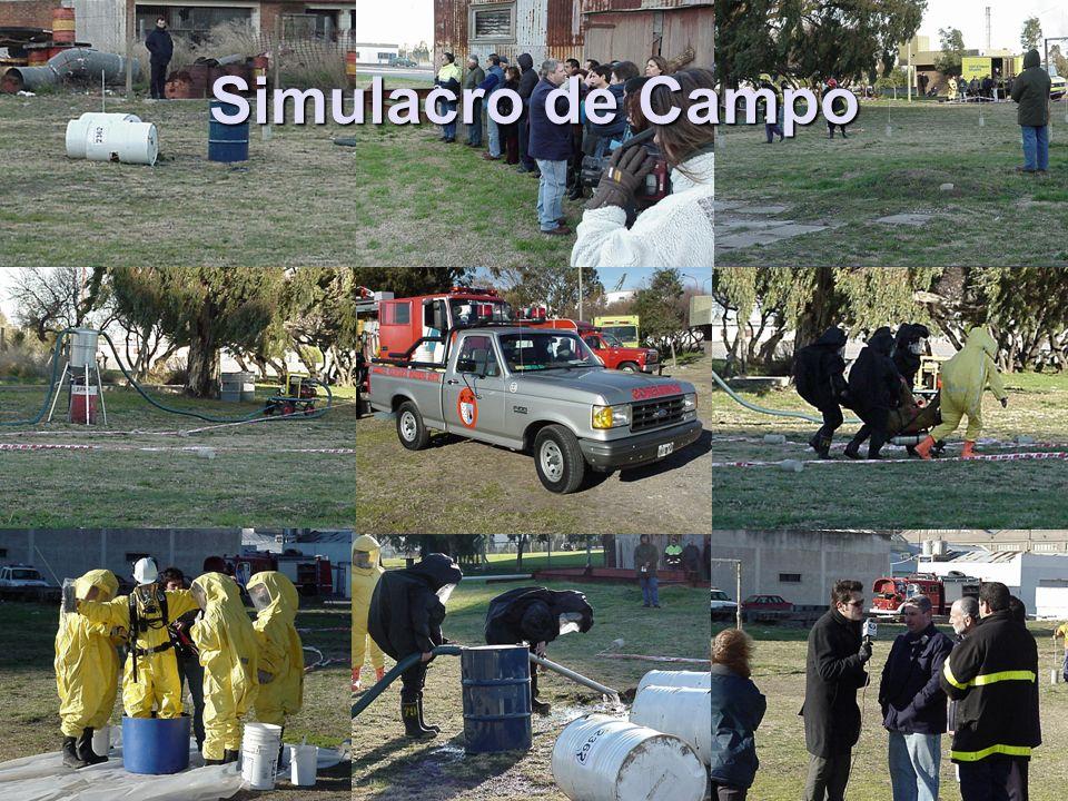 Simulacro de Campo