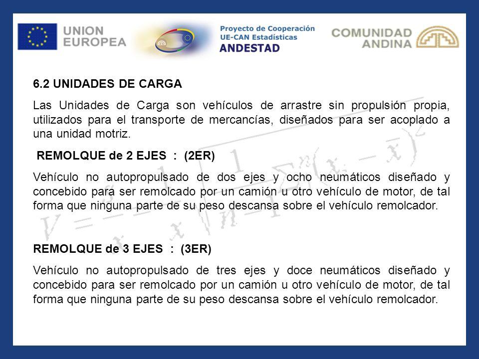 6.2 UNIDADES DE CARGA.
