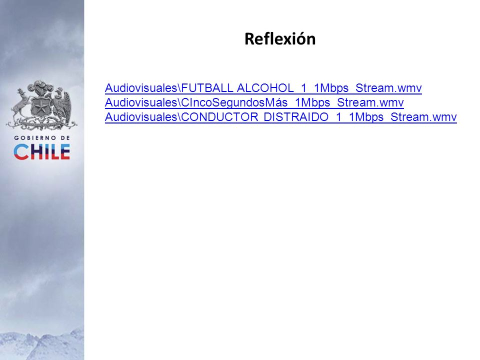 Reflexión Audiovisuales\FUTBALL ALCOHOL_1_1Mbps_Stream.wmv
