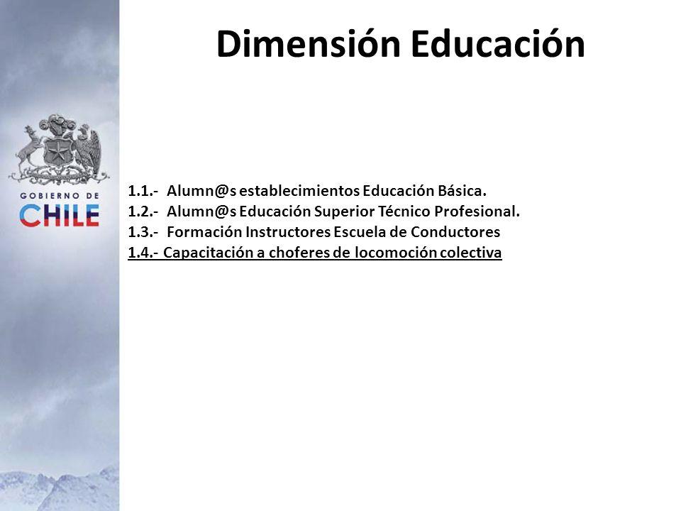 Dimensión Educación