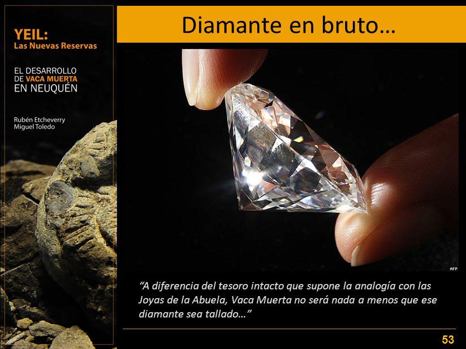 Diamante en bruto…