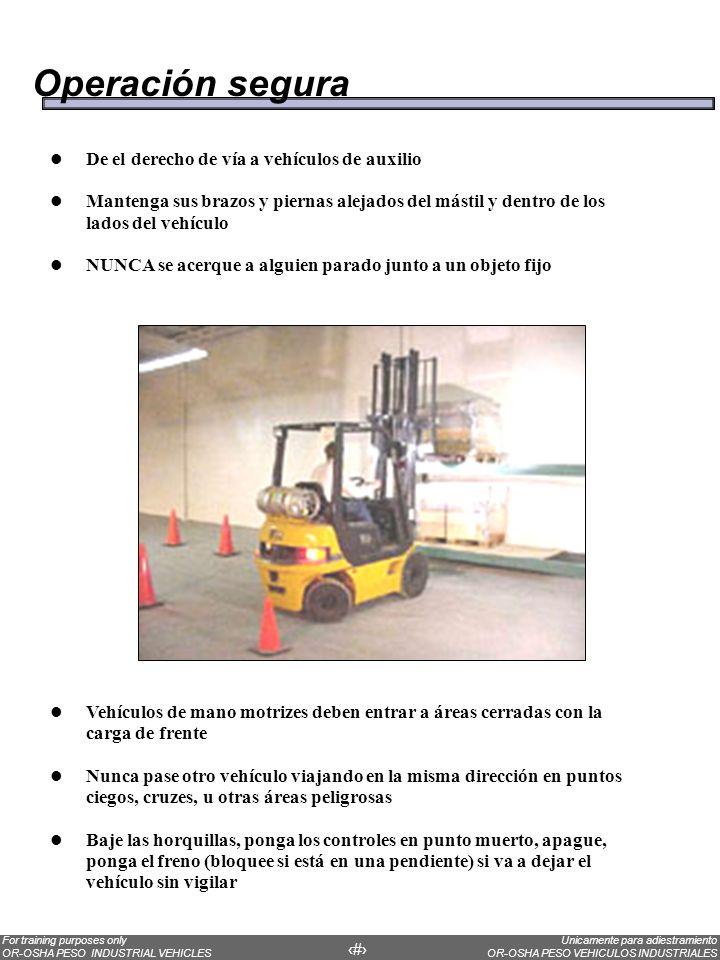 Operación segura De el derecho de vía a vehículos de auxilio
