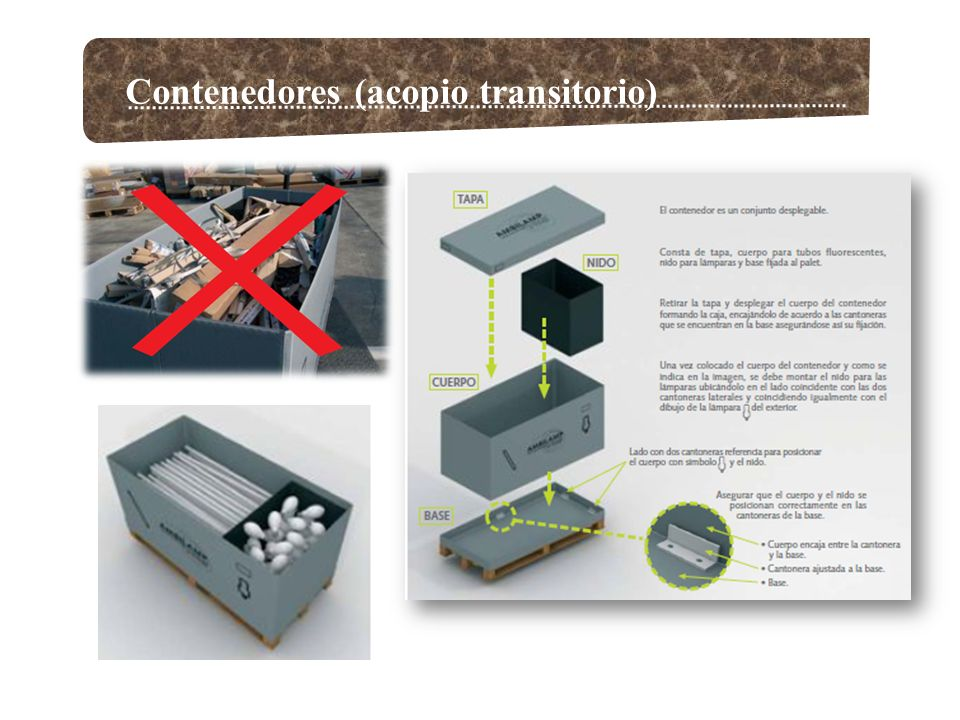 Contenedores (acopio transitorio)