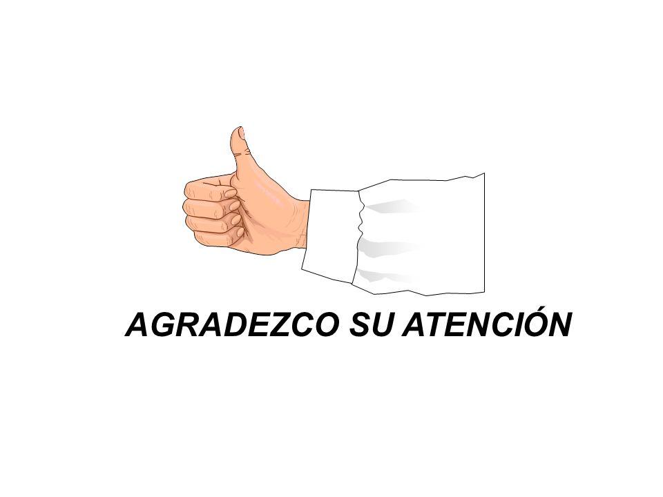AGRADEZCO SU ATENCIÓN