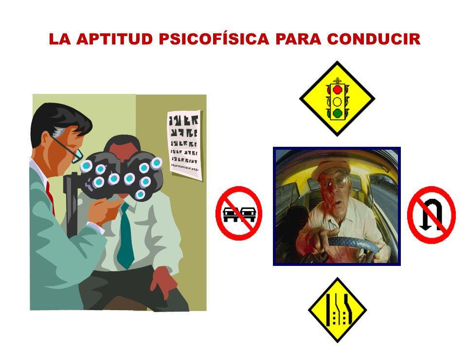 LA APTITUD PSICOFÍSICA PARA CONDUCIR