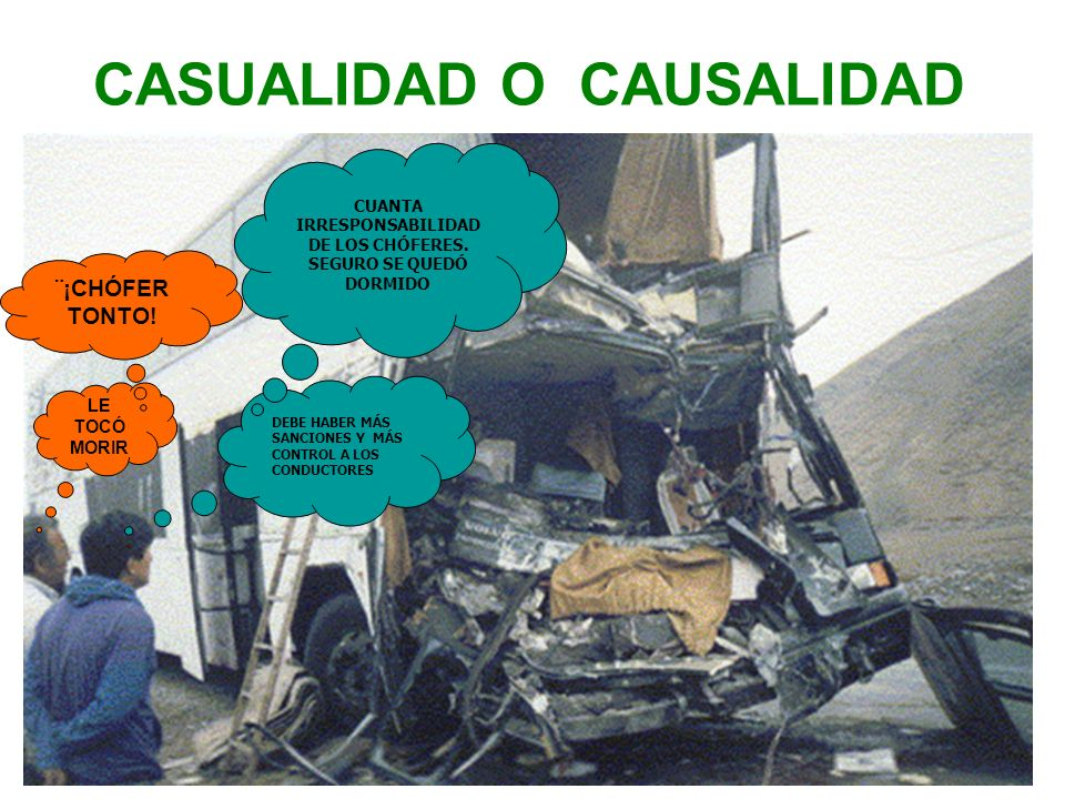 CASUALIDAD O CAUSALIDAD