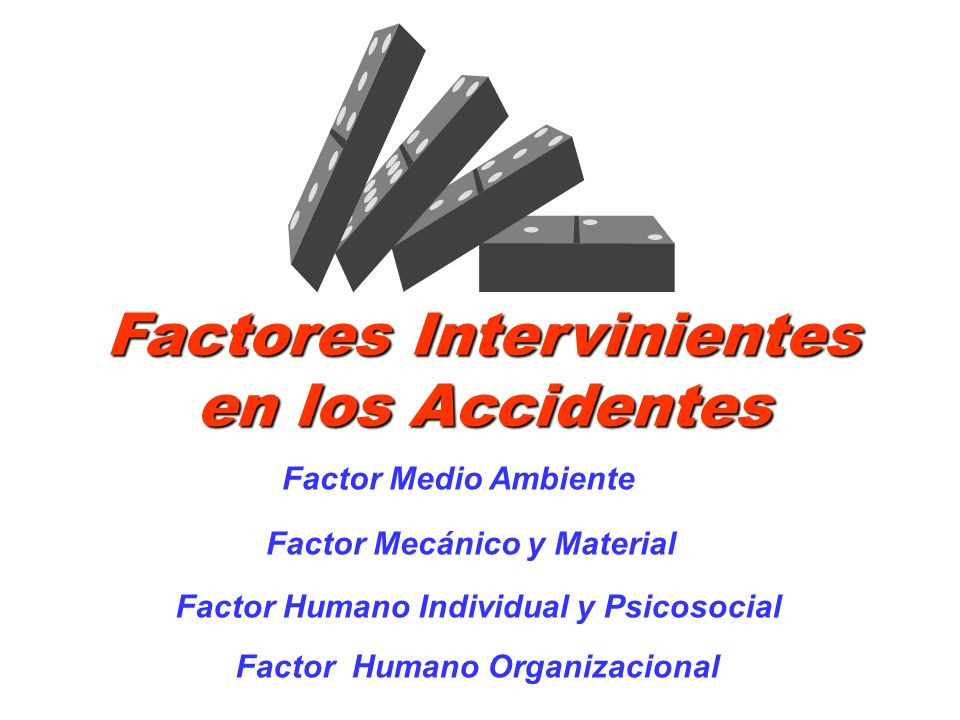 Factores Intervinientes