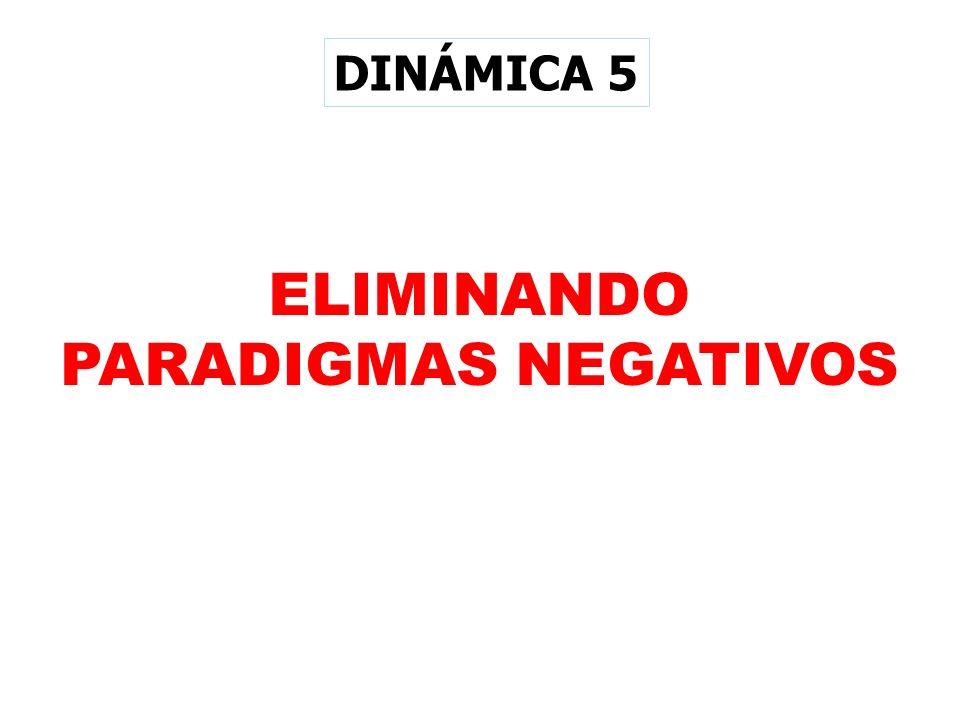 ELIMINANDO PARADIGMAS NEGATIVOS