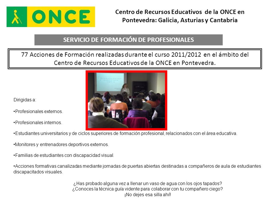 SERVICIO DE FORMACIÓN DE PROFESIONALES
