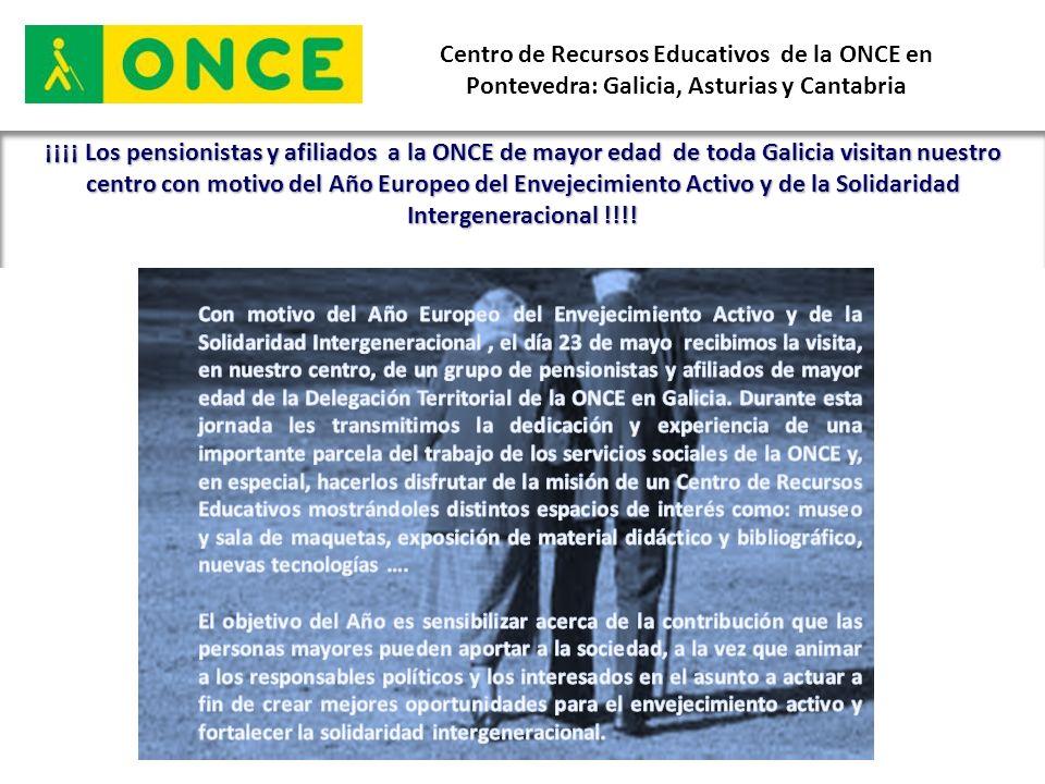 Centro de Recursos Educativos de la ONCE en Pontevedra: Galicia, Asturias y Cantabria