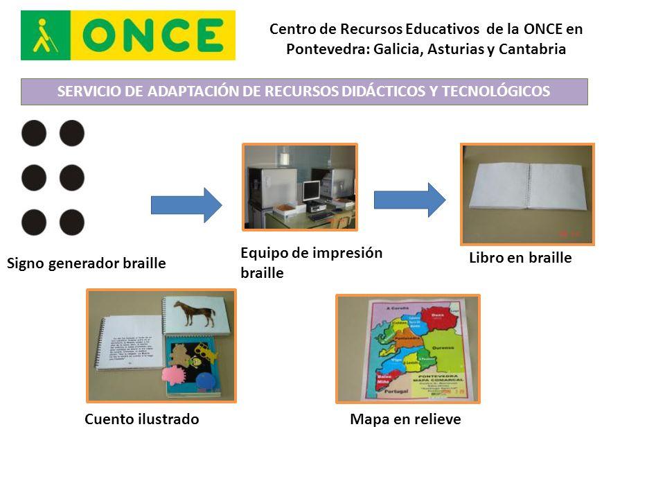 SERVICIO DE ADAPTACIÓN DE RECURSOS DIDÁCTICOS Y TECNOLÓGICOS