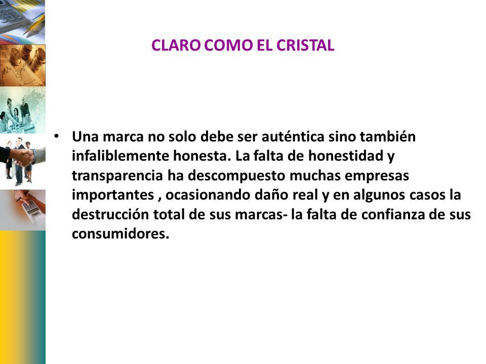 CLARO COMO EL CRISTAL
