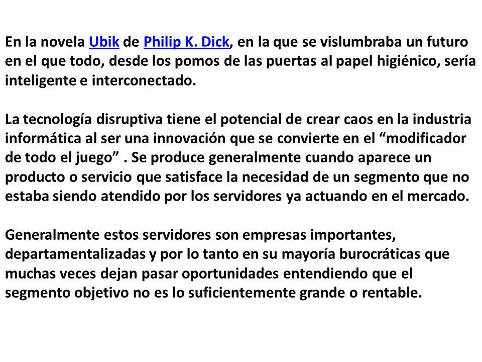En la novela Ubik de Philip K