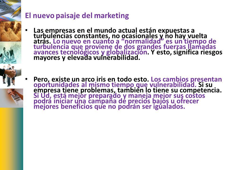 El nuevo paisaje del marketing
