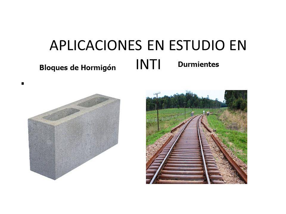 APLICACIONES EN ESTUDIO EN INTI