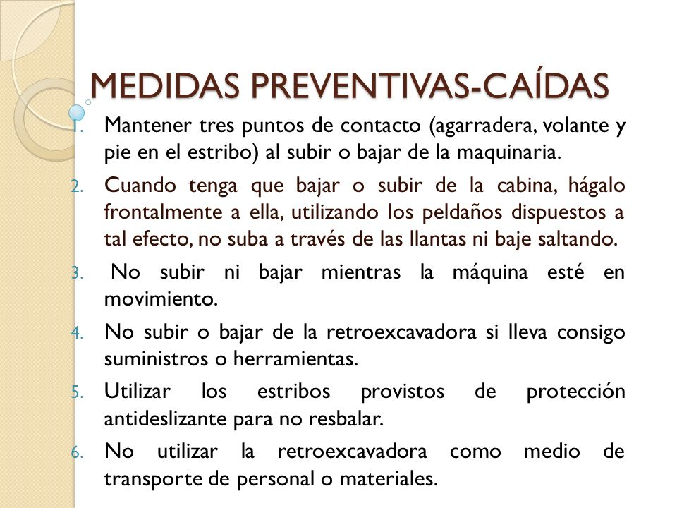 MEDIDAS PREVENTIVAS-CAÍDAS