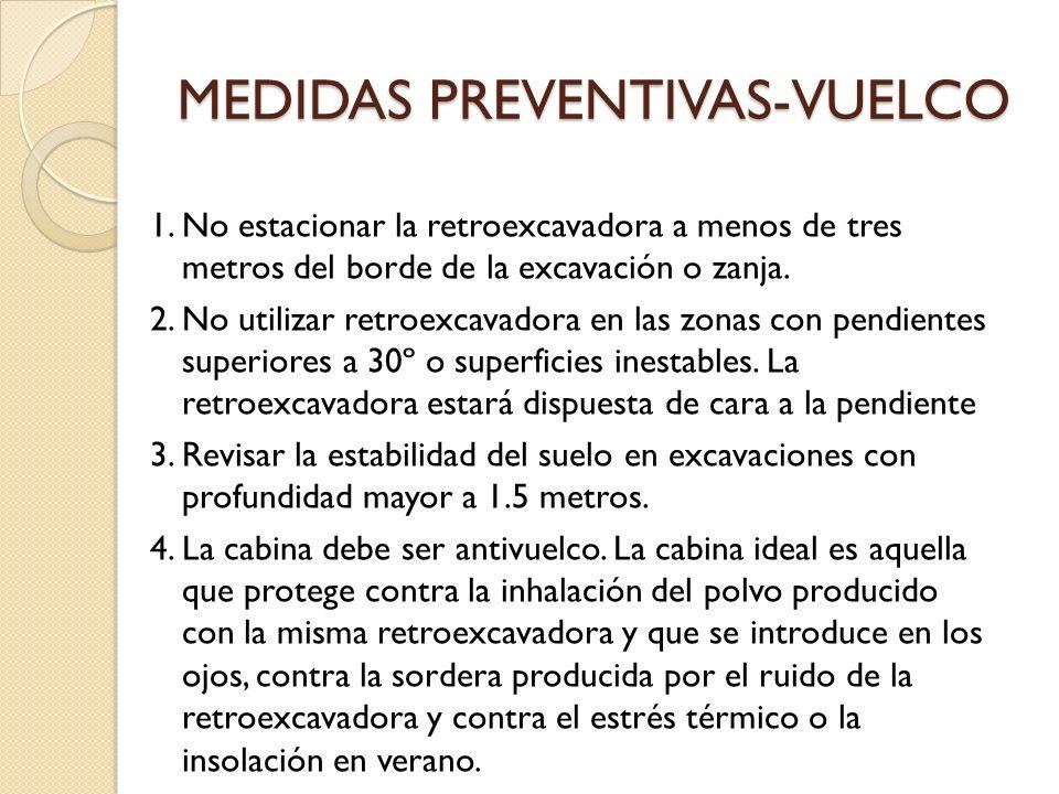 MEDIDAS PREVENTIVAS-VUELCO