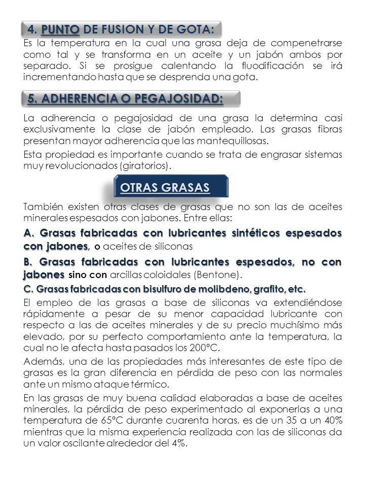 4. PUNTO DE FUSION Y DE GOTA: