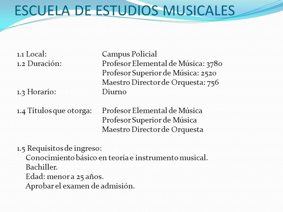 ESCUELA DE ESTUDIOS MUSICALES