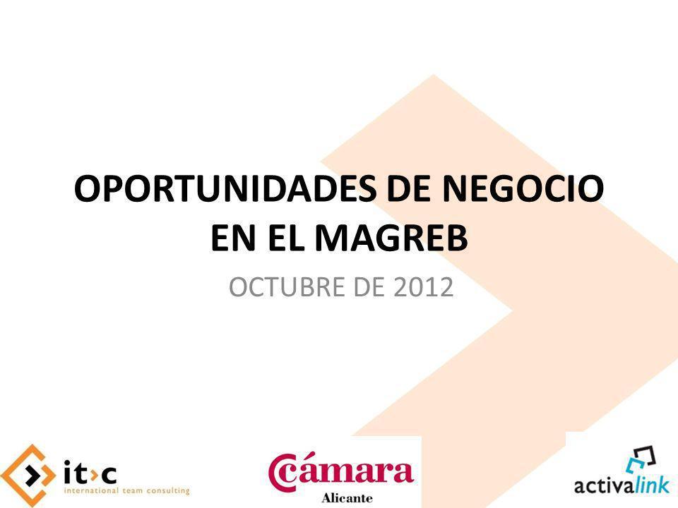 OPORTUNIDADES DE NEGOCIO EN EL MAGREB