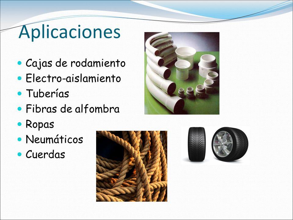 Aplicaciones Cajas de rodamiento Electro-aislamiento Tuberías