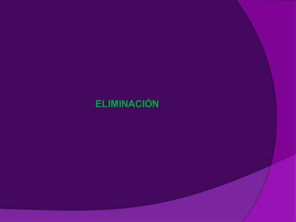 ELIMINACIÓN