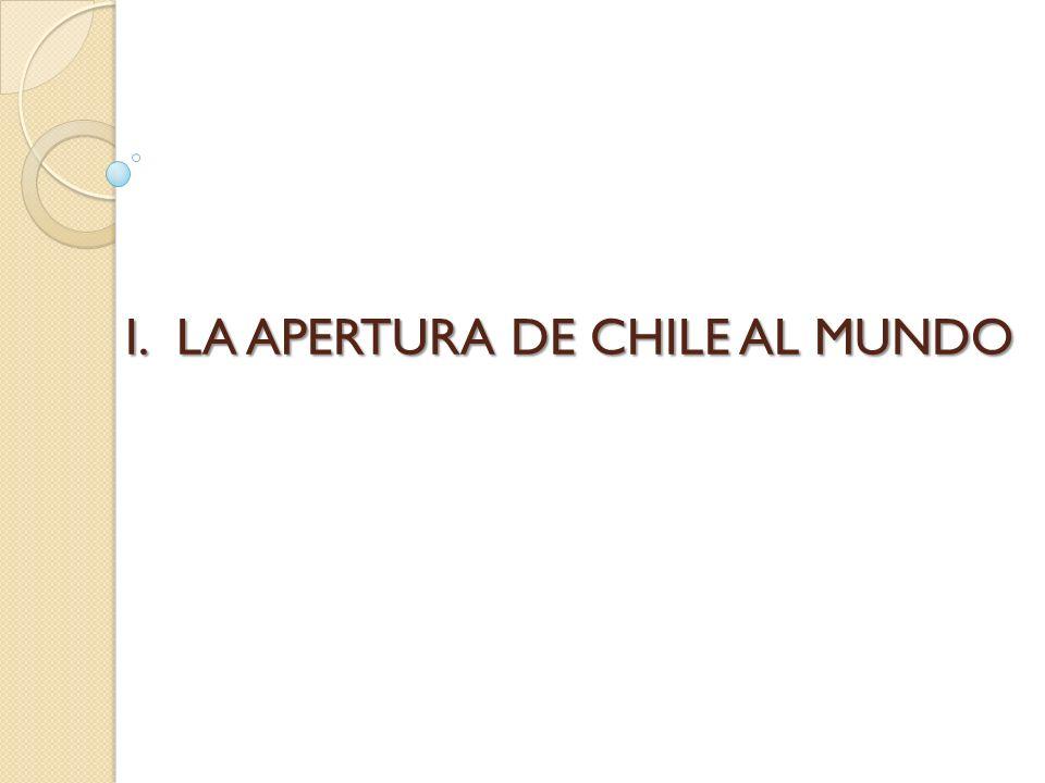 LA APERTURA DE CHILE AL MUNDO