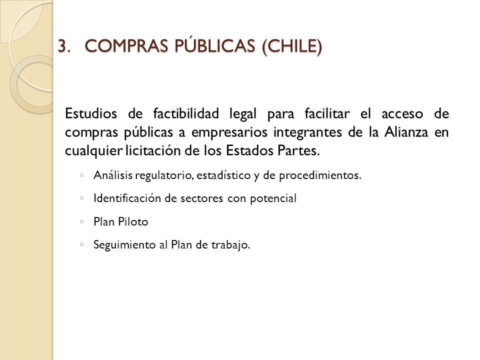 COMPRAS PÚBLICAS (CHILE)