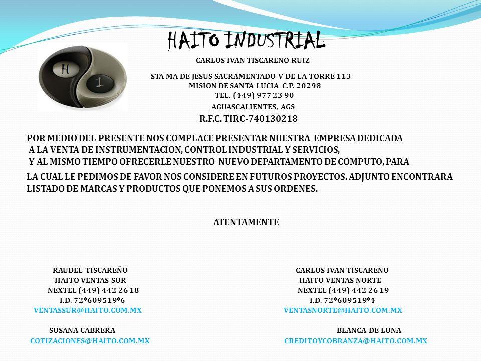 HAITO INDUSTRIAL R.F.C. TIRC-740130218