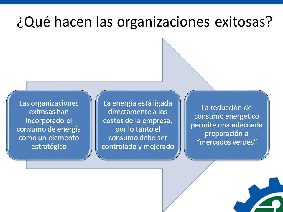 ¿Qué hacen las organizaciones exitosas