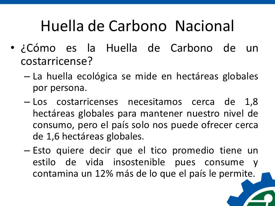 Huella de Carbono Nacional