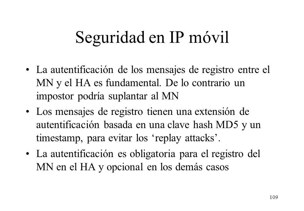Seguridad en IP móvil