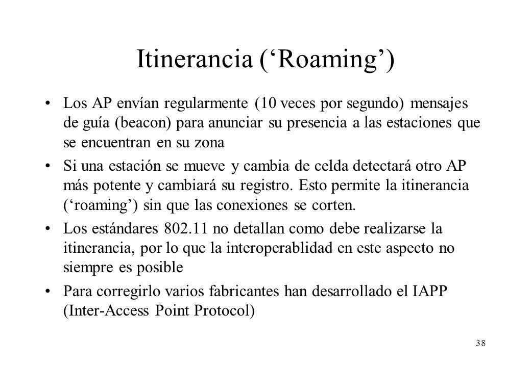 Itinerancia ('Roaming')
