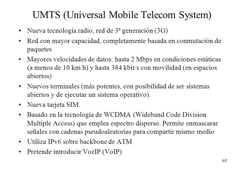 UMTS (Universal Mobile Telecom System)