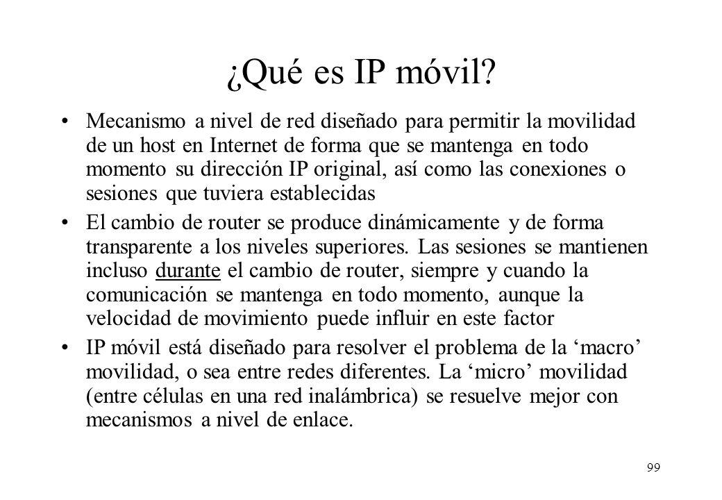 ¿Qué es IP móvil