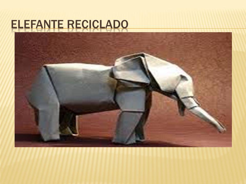ELEFANTE reciclado