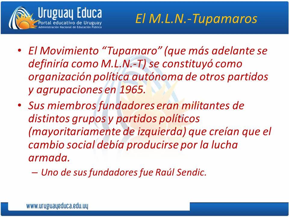 El M.L.N.-Tupamaros