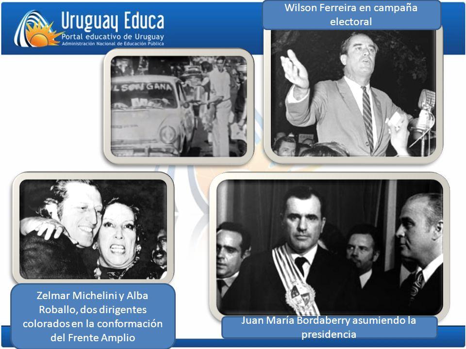 Wilson Ferreira en campaña electoral