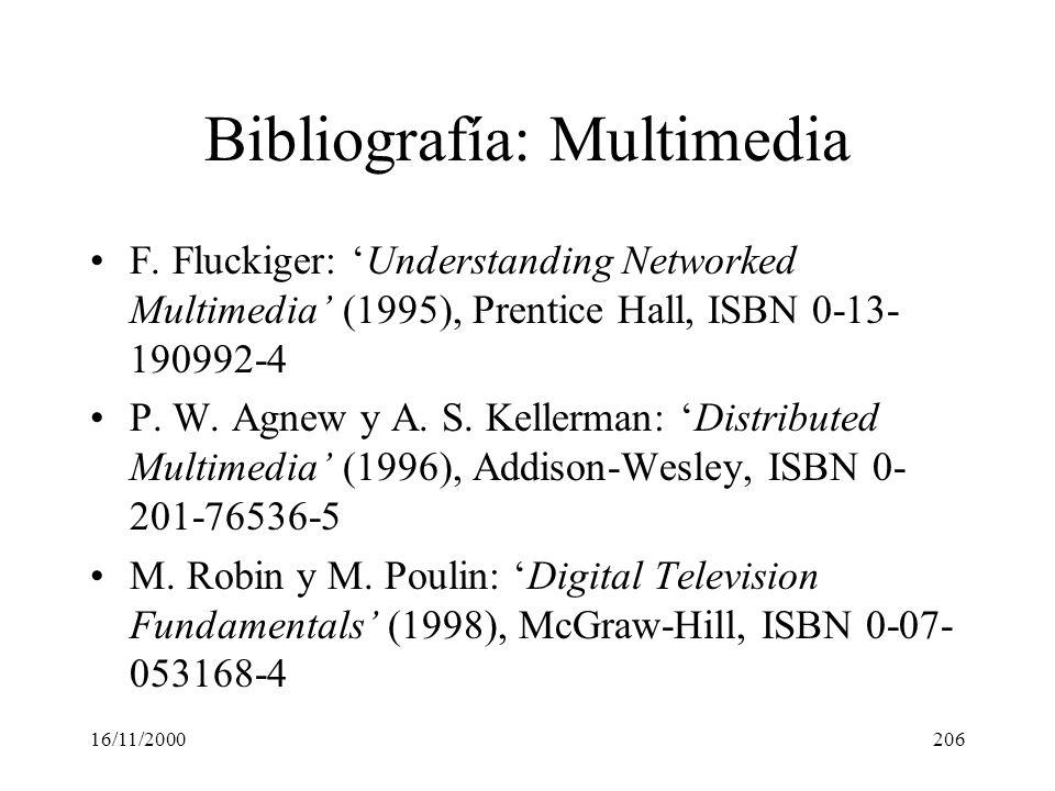 Bibliografía: Multimedia