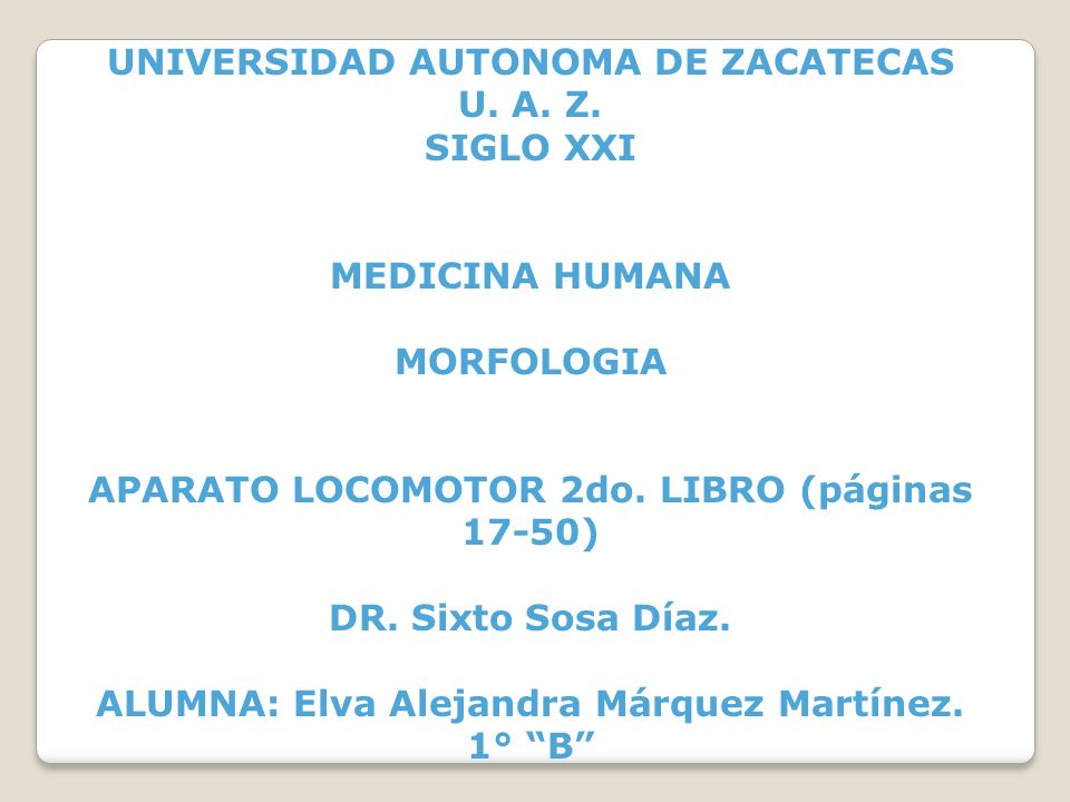 UNIVERSIDAD AUTONOMA DE ZACATECAS U. A. Z. SIGLO XXI