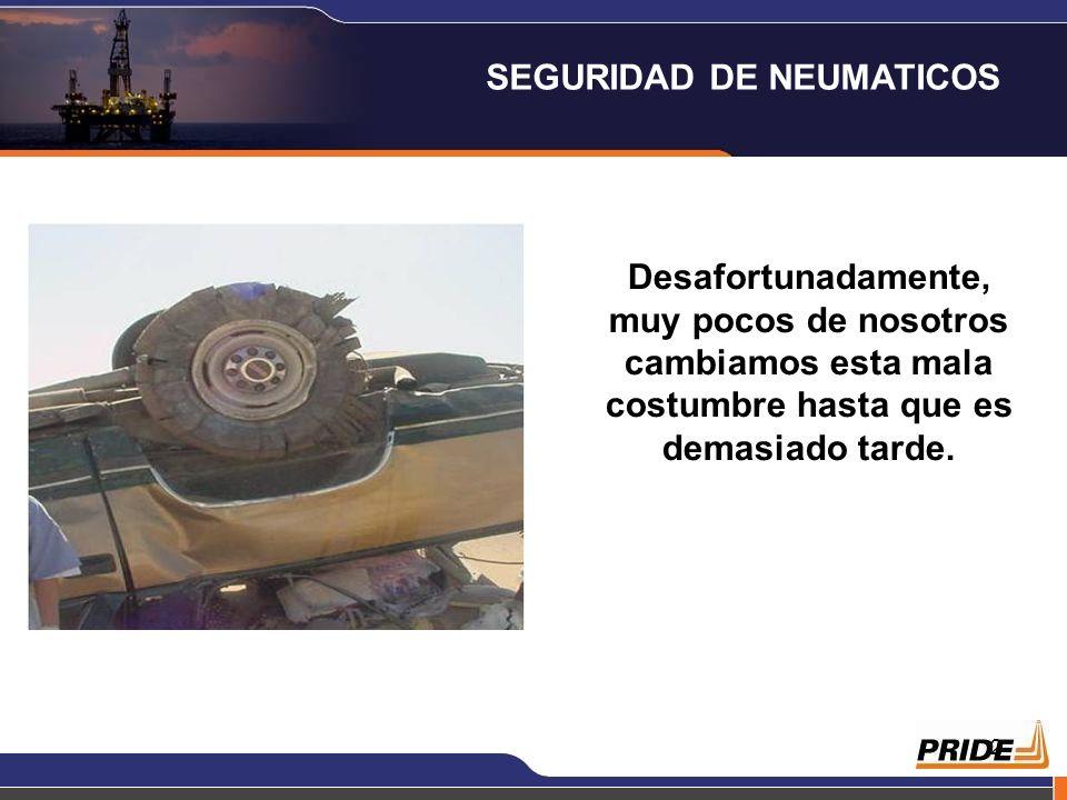 SEGURIDAD DE NEUMATICOS