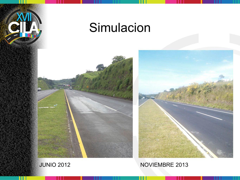 Simulacion JUNIO 2012 NOVIEMBRE 2013