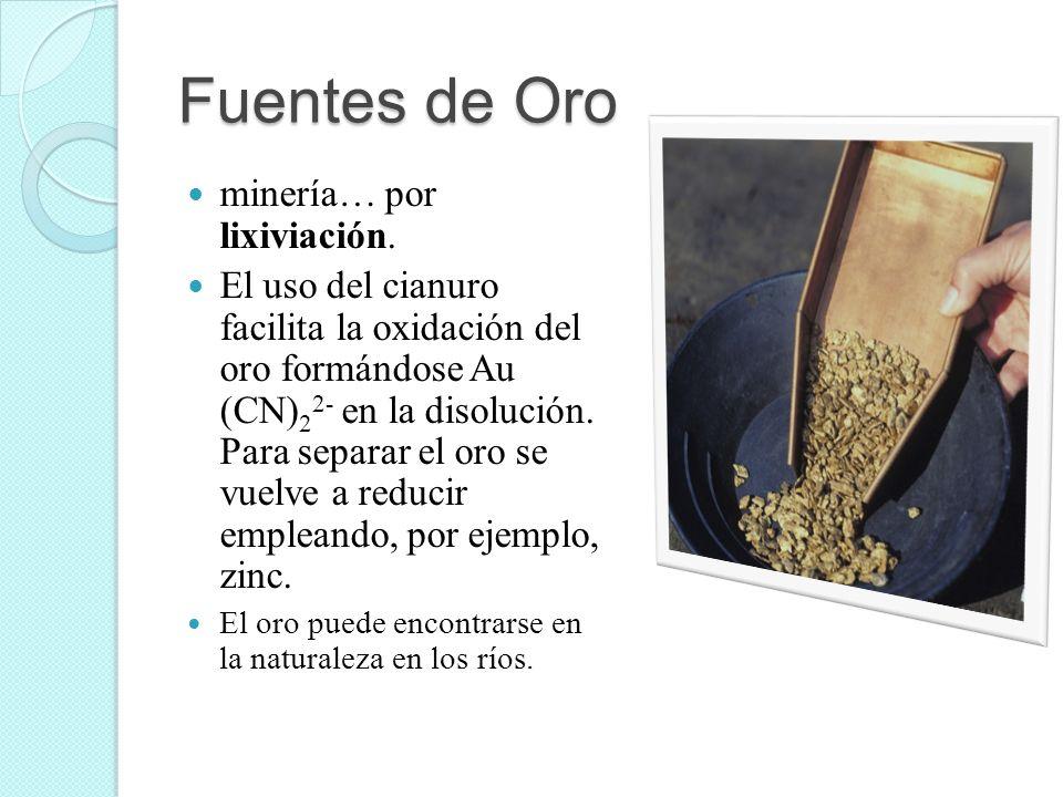Fuentes de Oro minería… por lixiviación.