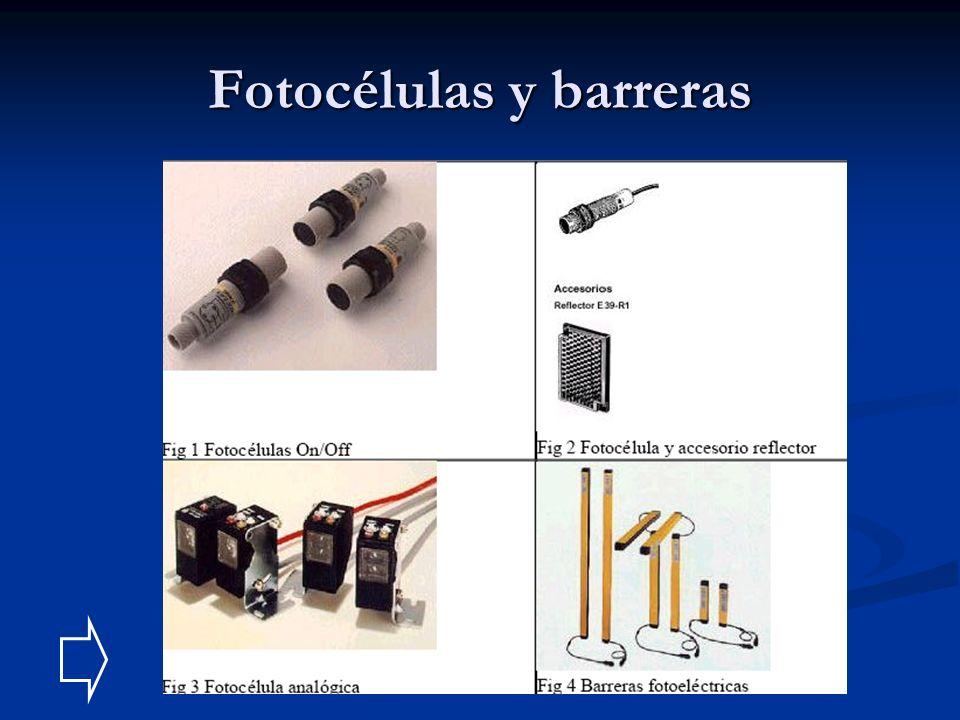 Fotocélulas y barreras