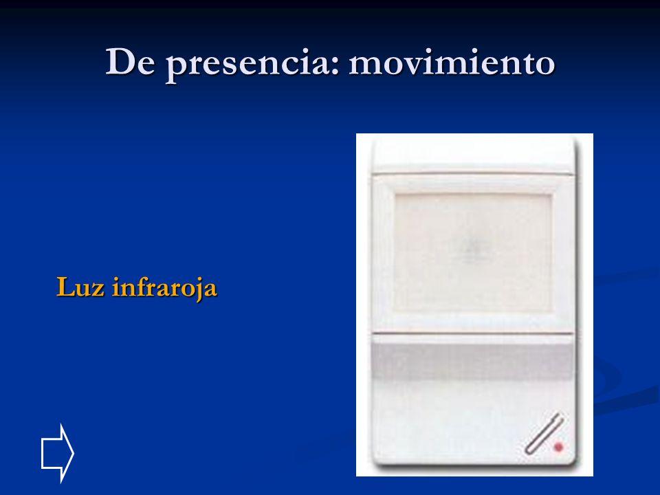 De presencia: movimiento