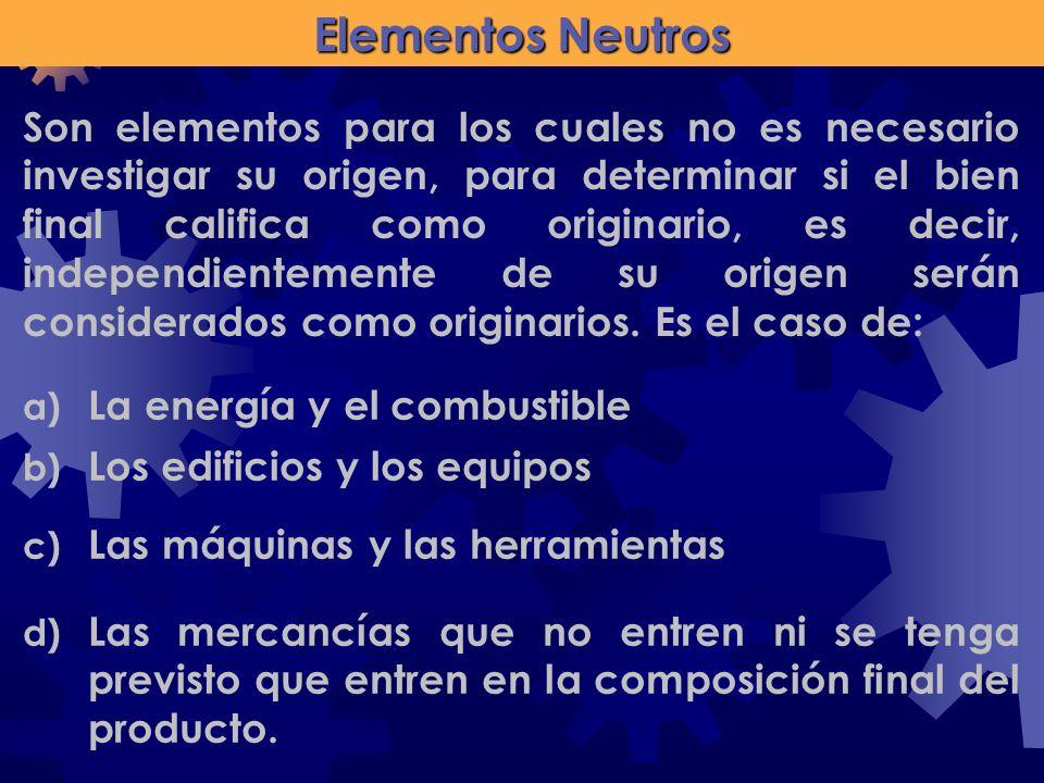 Elementos Neutros