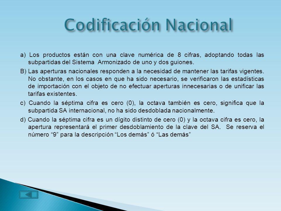 Codificación Nacional